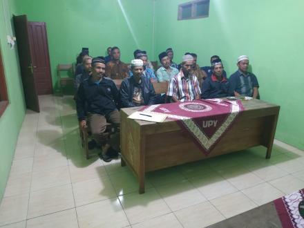 Pertemuan Rutin Linmas Desa Seloharjo