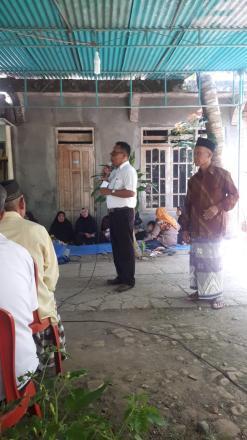 Penyerahan Akte Kematian Dusun Kalinampu